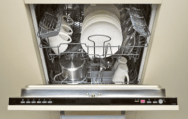 Overloaded Dishwasher